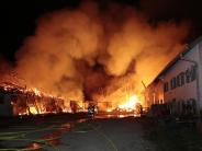 Großeinsatz: Szenen wie bei einem Flächenbrand