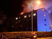 Am Römerhang: Dachgeschosswohnung in Landsberg in Flammen