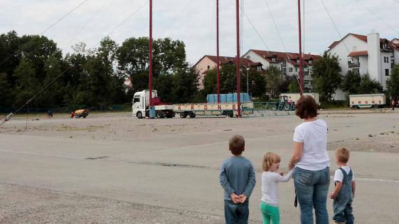 Landsberg: Eine große Zeltstadt inmitten der Stadt