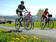 Scheuring: Die Radwegpläne liegen auf Eis