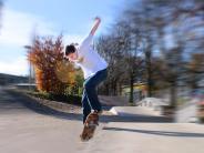 Kurioser Unfall in Schwifting: Ein Skateboard außer Kontrolle