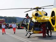 Landkreis Dillingen: Radfahrerin und Rollerfahrer werden bei zwei Unfällen schwer verletzt