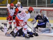Eishockey: Vor dem Tor herrschte Hochbetrieb