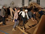 Projekt in Landsberg: Mit Freude schaffen und zerstören