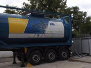 Landkreis Landsberg: Ein Lastwagen liefert Wärme