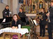 Konzert: Muntere Trompeten und Batman in der Krippe