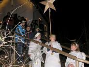 Igling: Nikolaus und Krampus, Bratwurst und Apfelkücherl