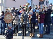 Kaufering: Mit Marsch, Polka und Walzer ins Jahr 2017