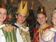 Dießen: Kaspar, Melchior und Balthasar wünschen ein gutes Jahr