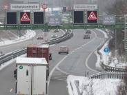 Eching: Autofahrer sehen rot