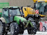 Hübschenried: Wenn im Winter Ernte ist