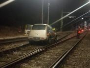 Weilheim: Geistig Verwirrter fährt auf Zuggleise
