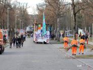 Fasching in Landsberg: Aufräumen nach der großen Party