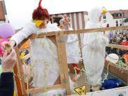 Geltendorf: Der Papst bleibt draußen, die Hühner bleiben drin