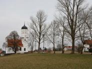 Petzenhausen/Weil: Der Sockel und das Wandbild