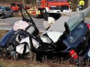 Unfall bei Igling: Beim Überholenden Gegenverkehr übersehen