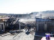 Großbrand im Landkreis Landsberg: 80 Schafe verbrennen im eigenen Stall