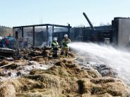 Pflaumdorf: Polizei geht von Brandstiftung aus