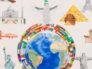Schule: Bilder für den Frieden