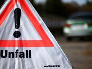 Kreis Augsburg: Auto überschlagt sich auf B2 bei Langweid