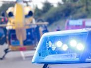 Obermeitingen: Biker bremst falsch, stürzt, und verletzt sich schwer