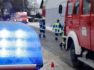 Fürstenfeldbruck: Feuer auf dem Balkon