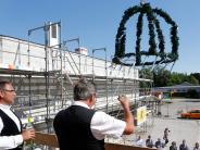 Landsberg: Der Rohbau an der Mittelschuleist geschafft