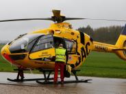 Schwifting: Zwei Verletzte, ein Hubschrauber und hoher Sachschaden