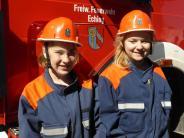 Eching: Zwei Feuerwehrfreundinnen haben ihren großen TV-Auftritt
