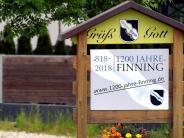 Finning: Der Plan fürs Jubiläum steht schon