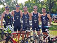 Landkreis Landsberg: Triathleten trotzen der Hitze