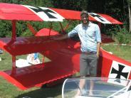 Flugtag: Der Rote Baron drehte seine Runden