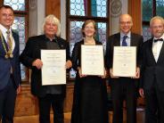Festakt in Landsberg: Sie prägen die Kultur in der Stadt