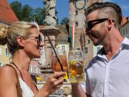 Stadtfest in Landsberg: Wo Bier auf Rosato trifft