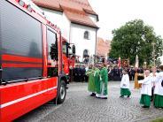 Pflugdorf-Stadl: Mit dem neuem HLF 20 bestens ausgerüstet