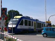 Schondorf: Bahnschranke lässt sich nicht mehr schließen