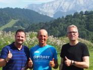 Reichling/Garmisch-Partenkirchen: Der Lauf auf die Zugspitze war der Horror