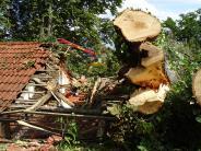 Landkreis Landsberg: Sturm fegt über den Landkreis