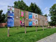 Landkreis Landsberg: Bundestagswahl: Auf Plakaten, Plätzen und im Netz