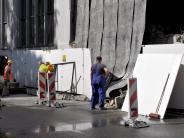 Bildergalerie: Abriss der Landsberger Pflugfabrik