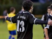 Fußball Bezirksliga: Ein rabenschwarzer Abend
