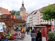 Landsberg: Rummel in der Altstadt