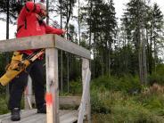 Rott: Mit Pfeil und Bogen durch den Wald