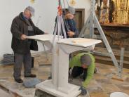 Petzenhausen: Der neue Altar ist schon da