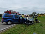 Unfall: In den Gegenverkehr