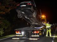 Issing: Beim Überholen in den Gegenverkehr gefahren