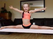 Penzing: Selbst im Wohnzimmer wird trainiert