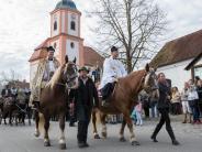 Landkreis Landsberg: Hanni und Hella ziehen den heiligen Leonhard