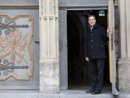 Landsberg: Stadtpfarrkirche: Die Hebebühne rückt jetzt regelmäßig an