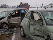 Landkreis Landsberg: Mehrere Unfälle auf glatten Straßen